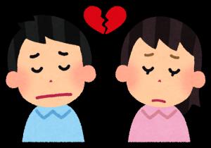 大阪の枚方に住んでいる人が失恋して占いに行く