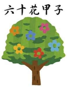 京都の占い師HAMAが解説する六十花甲子