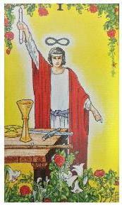 タロットカード占いでみるTHE MAGICIAN(魔術師)