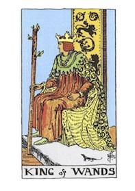 コートカードのワンドのキング