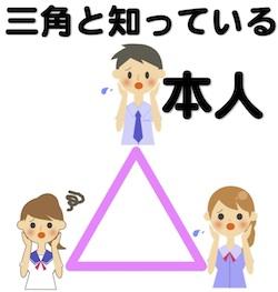 占いを京都でするHAMAが解説する三角と知っている本人
