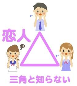 占いを京都でするHAMAが解説する三角と知らない恋人