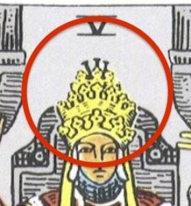 キリストのカトリックの教皇の三重冠