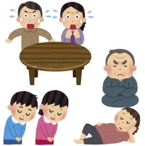 京都で1番当たる手相占いに両親の挨拶にいくカップルがくる