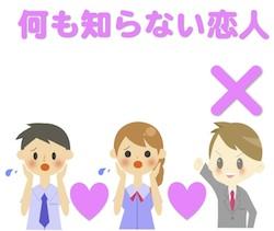 京都の占い処Key&Doorの二股の何も知らない恋人