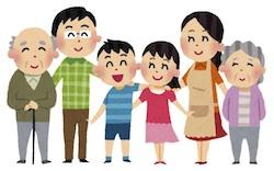 大家族の子供達が京都で有名な手相占いに行く