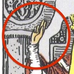 ローマ教皇の祝福サイン