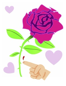 占いを京都で営むHAMAが解説する薔薇には棘がある