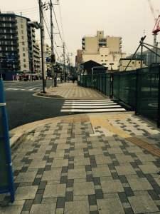 京都の占い処Key&Doorにいく途中の駐車場