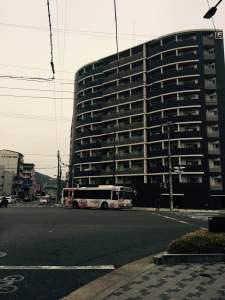 京都の占い処Key&Doorにいく途中の河原町交差点