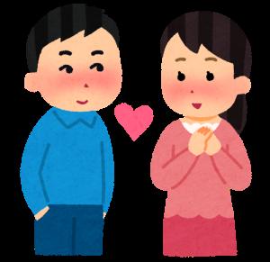 お互いを意識している男女が京都で1番の占いに行く