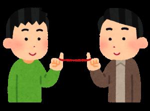 京都市下京区に住んでいる同性愛のゲイ同士が占いに行く