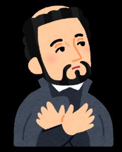 キリスト教の信仰を広めるために京都に来て占いをしてもらう