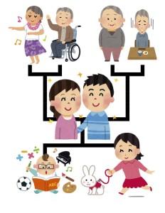 京都の下京区にすむ人が家系の相談をするために人気の手相占いを訪れる