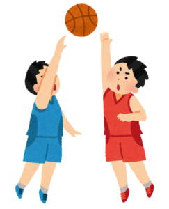 バスケット選手が手相占いのために京都に来る