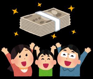 当たる占いを京都駅でしている家族