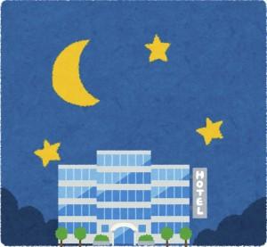 京都の伏見のホテルにいったカップルが手相占いに行く