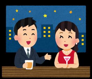 酒を飲んだ人が占いをしたくなって京都の東山にくる