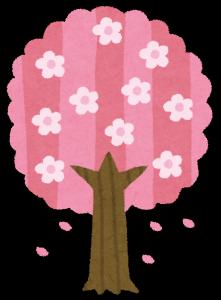 春の木を見に来るために占い師が京都の東山にやってくる。
