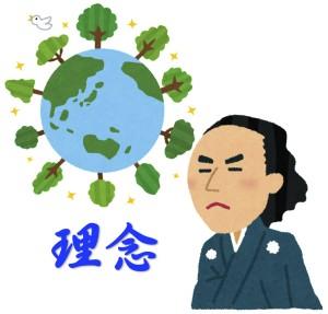 理念を持った坂本龍馬が京都の姓名判断の占いに行く