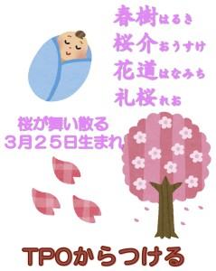 花道が京都駅近くの姓名判断で名付けをする