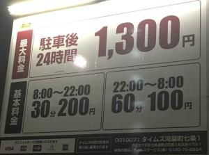 京都駅から徒歩5分のタイムズ河原町七条1から占いに行く