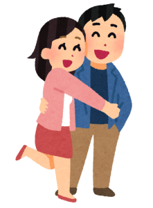 京都と滋賀で恋愛しているカップルが手相占いにいく