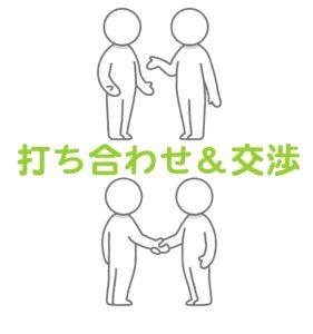 京都1番有名な占い店で派遣の交渉をする