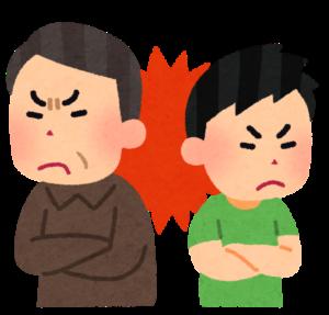 滋賀の大津から親子喧嘩の占いをするために京都に行く