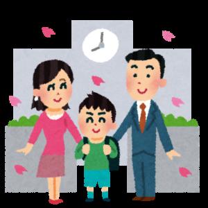 京都から東京に移住する家族が学校占いに行く