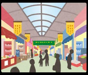 当たると有名な手相占いにいくために京都駅から歩く