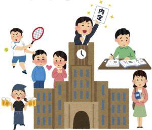 京都の高校生が卒業後の進路について手相占いで相談する