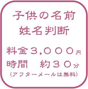子供の名前の姓名判断をしてもらうために滋賀から京都に行く