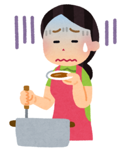 主婦が料理を占いしてもらうために京都駅から歩く