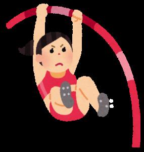 京都出身の棒高跳びの選手が当たると有名な占いに行く