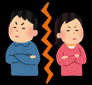 占いをしてもらうために京都に行く離婚しそうな夫婦