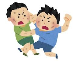小学生の子供の手相占いのために京都駅からあるく