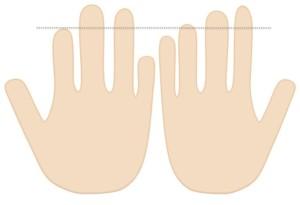 指が長い人が京都で一番当たる占いに行く