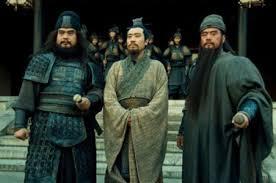 劉備と関羽と張飛が中国から京都に来て占いに行く