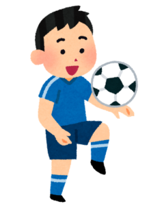サッカー選手が有名な占いに行くために京都に訪れる