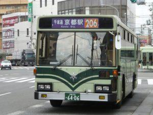 京都市営バスの206号系統